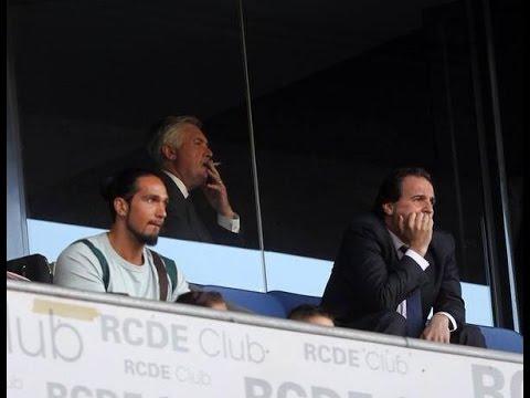 carlo ancelotti smoking 17-05-2015