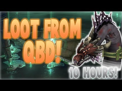 Runescape 2017 | Loot from 10 hours of QBD! | 6m gp/hr!?
