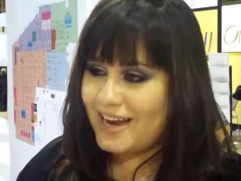 Jenn Boyd - Jennisse MakeUp - CosmoProf 2009 - Las Vegas