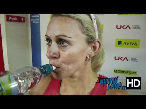 Interview with Jenny Meadows at IAAF Diamond League Birmingham 2011
