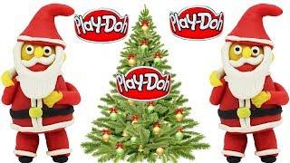 How to Make Santa Clause with Play-Doh   Kids Playdoh Santa  *MERRY CHRISTMAS SANTA CLAUSE*