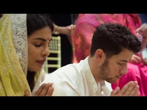 Priyanka Chopra and Nick Jonas Enjoy Intimate Engagement Celebration thumbnail