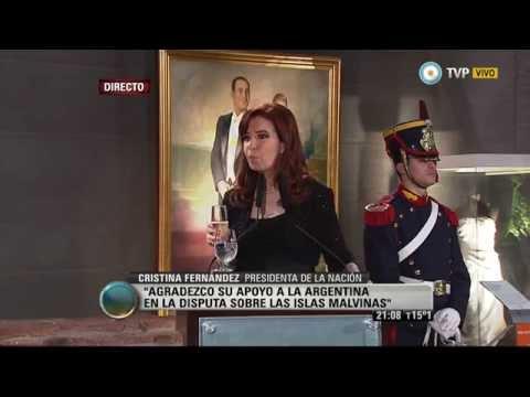 Visión 7 La Presidenta le agradeció a Putin el apoyo por Malvinas