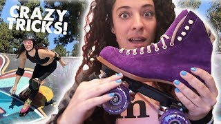 People Are Awesome Presents: Indy Jamma Jones   Roller Skating
