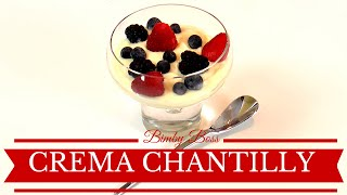 Bimby | Thermomix - Crema Chantilly