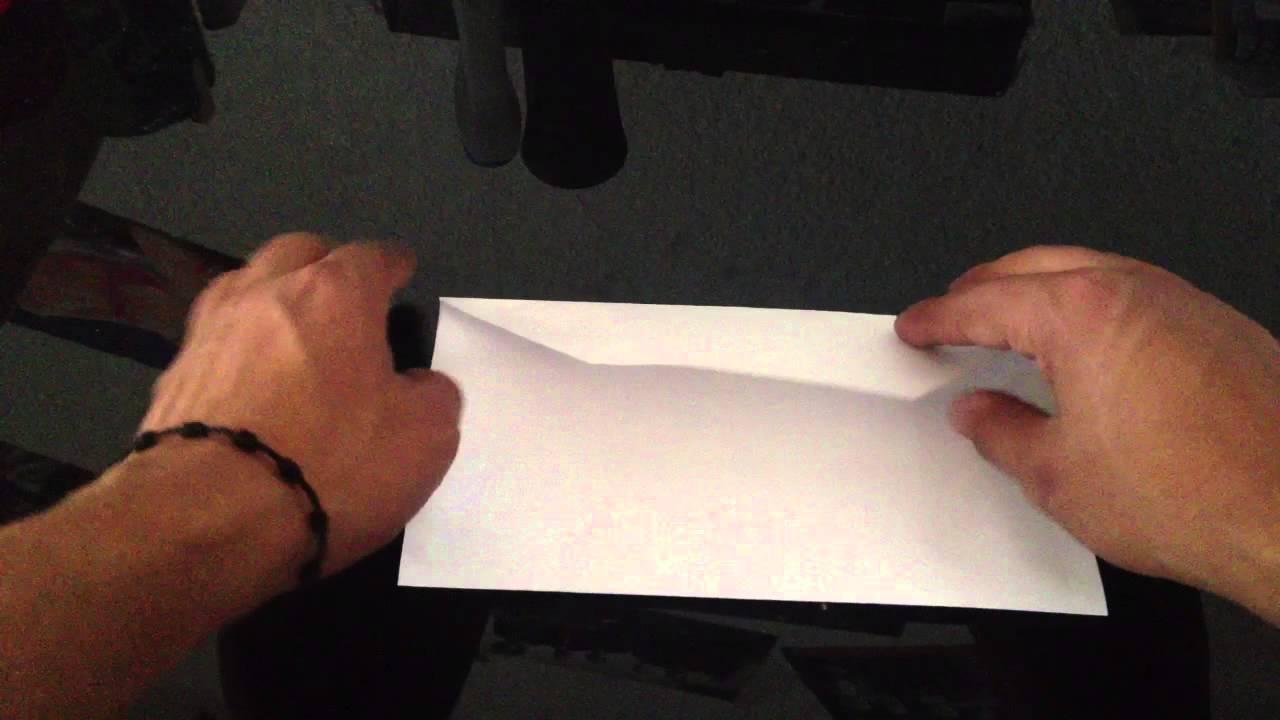 Hacer un sobre hacer una carta personalizada youtube - Como hacer unas fundas para el sofa ...