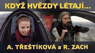 Hvězdy StarDance Roman Zach a Andrea Třeštíková létaly vírníky (www.airzone.tv)