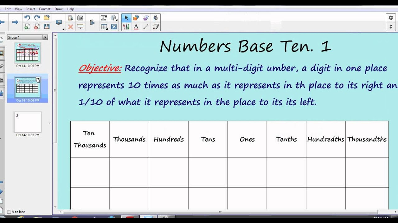 5 nbt 1 worksheets