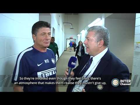 INTERVISTA WALTER MAZZARRI POST INTER - MANCHESTER UNITED