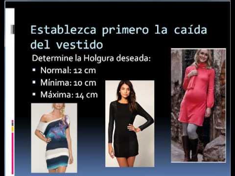 Como hacer vestidos a la medida en http://Patronesderopa.com - YouTube