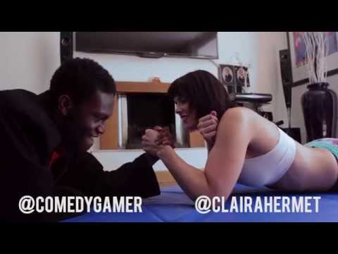 Girl vs Boy Arm Wrestling Challenge