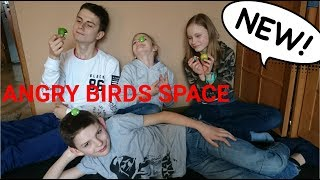 ANGRY BIRDS SPACE - UNBOXING FUNNY GAME