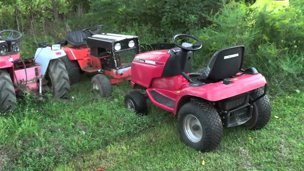 The New Honda 4514 Tractor Youtube