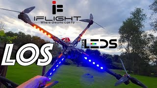 The BRIGHTEST Drone You've Ever Seen! | iFlight X-Class LOS Ft. TinysLEDs