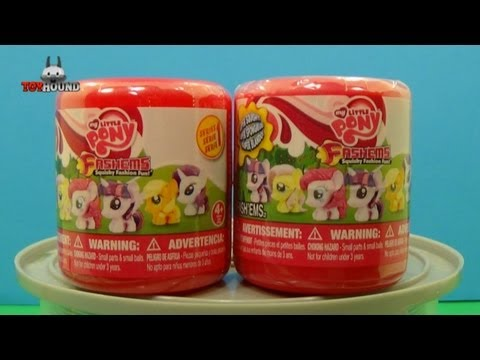 My Little Pony FASH'EMS SQUISHY FASHION FUN CAPSULE REVIEWS