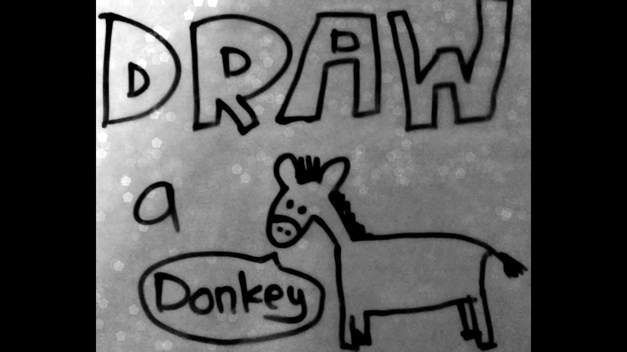 Burro, burro, gris rima antigua guardería (burro burro gris)