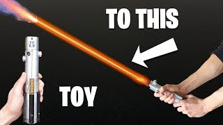 TOY Lightsaber Becomes REAL