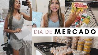 VLOG: DIA DE MERCADO E ORGANIZAÇÃO DE COMIDAS l Ariel Martins