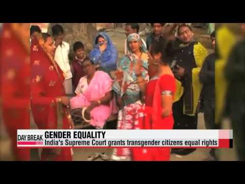 India's top court grants transgender citizens legal status