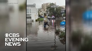 West Coast slammed with flash flooding warnings
