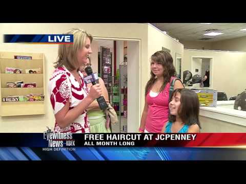 J. C. Penney offers free back-to-school haircuts