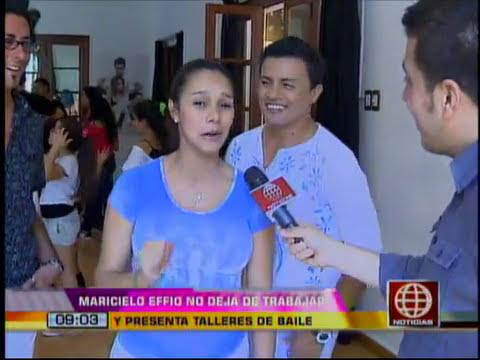 Mamacita Feliz: Maricielo Effio cuenta los dias para dar a luz