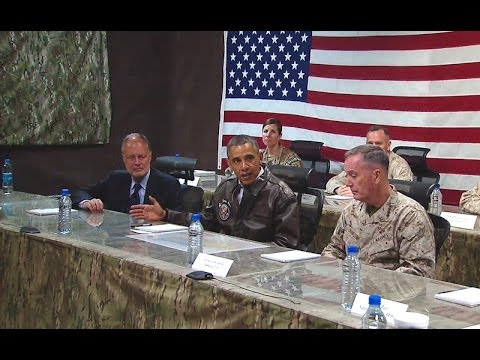 President Obama Speaks at ISAF Meeting in Afghanistan