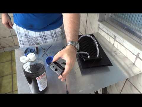 Montagem Water Cooler - H100 customizado