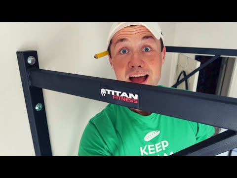 Titan Fitness Pull up bar INSTALL