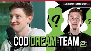 SCUMP REVEALS HIS COD DREAM TEAM