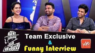 Agent Sai Srinivasa Athreya Movie Team Exclusive and Funny Interview | Naveen Polishetty