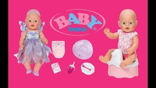 Funny Good baby and Baby born doll and kitchen play