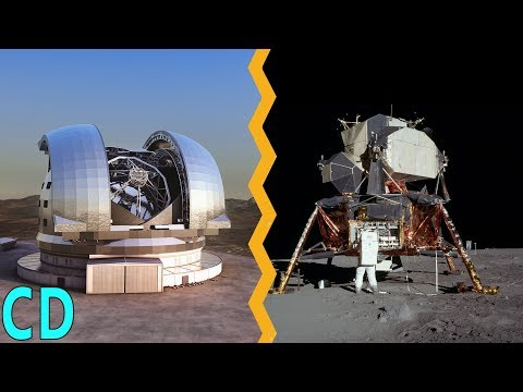 Why can't we see the Apollo lunar landers on the Moon from Earth ?