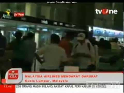 Malaysia Airlines Kembali Mendarat Darurat (MH192)