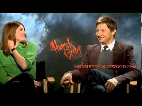 Jeremy Renner Gemma Arterton Exclusive Interview by Monsieur Hollywood