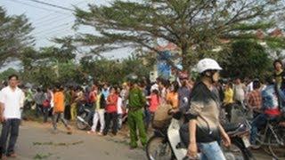 Công nhân Đồng Nai biểu tình chống Trung Quốc