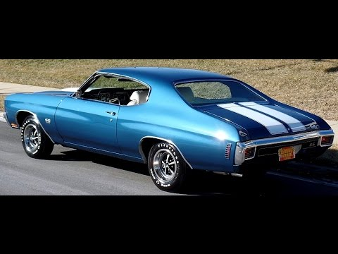 Top Shelf 1970 Chevelle SS-396. A/C  4 Speed!