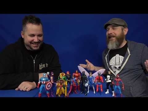 FwooshCast: Top 6 Marvel Legends Vintage Wave Wishlist...Times Three