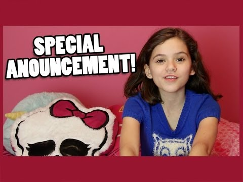 ANNOUNCEMENT: Emma's Room Tour & Monster High Doll Collection!  |  KITTIESMAMA