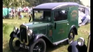 Vintage Cars and Vans at the New Forset England, Austin Seven's