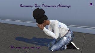 Runaway Teen Pregnancy Challenge| Sims 4| Ep 1