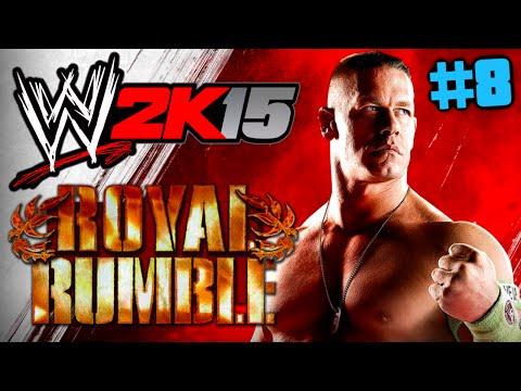 WWE 2K15 : Let's Play #8 [FACECAM] - ROYAL RUMBLE !! [German] HD