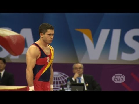 Olympic Qualifications London 2012 -- Isaac BOTELLA PEREZ (ESP)- FX