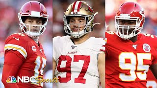 Super Bowl 2020: Ranking top impact players for Chiefs, 49ers | NBC Sports