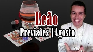 Leão Agosto 2019 - Descarrego Espiritual