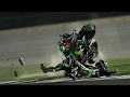 MOTOGP Crash Compilation 2017