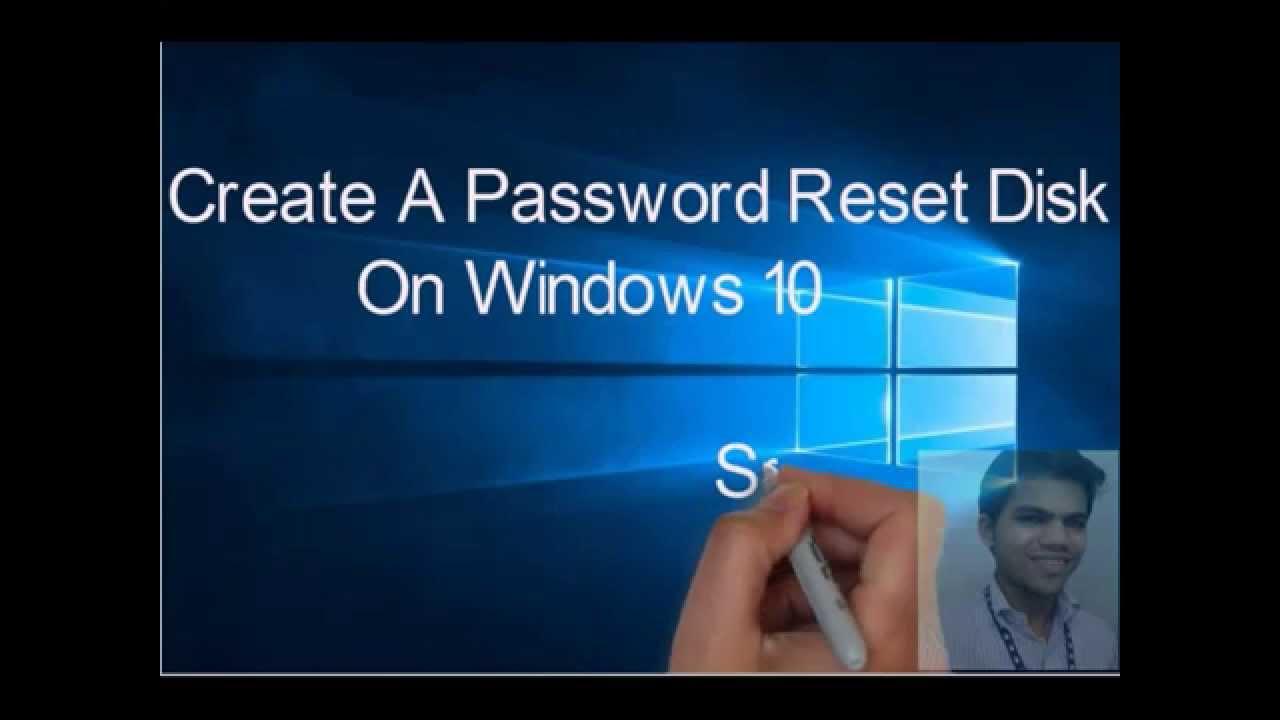 Create A Password Reset Disk On windows 10/ 8.1