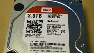 WD Red Western Digital NAS Hard Drive Unboxing & First Look Linus Tech Tips