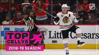 Best Cellys of the 2018-19 NHL Season