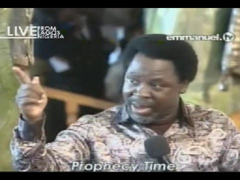 Scoan 07 09 14: Tb Joshua Prophecy: Pray For Pope & The World, Airplane To Be Hijacked. Emmanuel Tv video